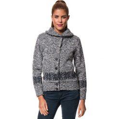 """Sweter rozpinany """"Bergen"""" w kolorze granatowym. Kardigany damskie Odlo Women, s, ze splotem. W wyprzedaży za 432,95 zł."""