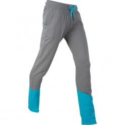 Spodnie dresowe, długie, z kolekcji Maite Kelly, Level 1 bonprix dymny szary - ciemnoturkusowy melanż. Szare bryczesy damskie bonprix, melanż, z dresówki. Za 74,99 zł.