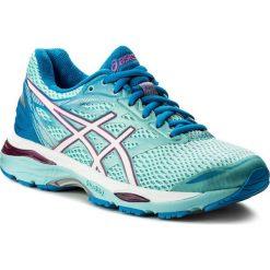Buty ASICS - Gel-Cumulus 18 (2A) T6D6N  Aqua Splash/White/Pink Glow 6701. Niebieskie buty do biegania damskie Asics, z materiału. W wyprzedaży za 289,00 zł.