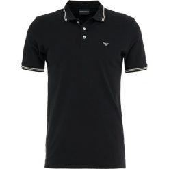 Emporio Armani Koszulka polo nero. Szare koszulki polo marki Emporio Armani, l, z bawełny, z kapturem. Za 419,00 zł.