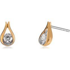 Biżuteria i zegarki: Zjawiskowe Kolczyki Srebrne – srebro 925, Cyrkonia