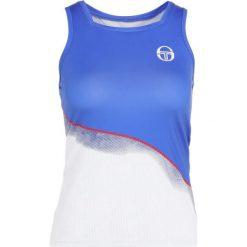 T-shirty damskie: sergio tacchini GRIDCOAST TANK  Koszulka sportowa white/dazzling blue