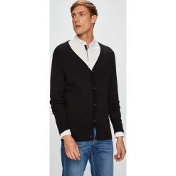 Premium by Jack&Jones - Kardigan. Czarne kardigany męskie Premium by Jack&Jones, l, z bawełny. Za 169,90 zł.