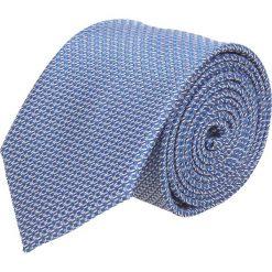 Krawat platinum niebieski classic 250. Niebieskie krawaty męskie Recman. Za 49,00 zł.