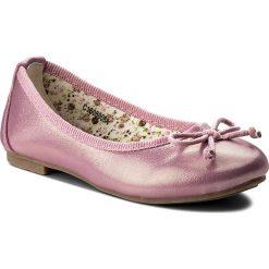 Baleriny dziewczęce: Baleriny NELLI BLU - C1608006A Różowy Ciemny