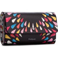 Duży Portfel Damski DESIGUAL - 18WAYP14 2000. Białe portfele damskie marki Desigual, ze skóry ekologicznej. W wyprzedaży za 209,00 zł.