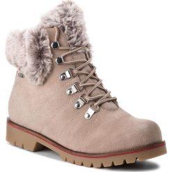 Trapery CAPRICE - 9-26217-21 Stone Suede 221. Szare buty zimowe damskie Caprice, z materiału. Za 349,90 zł.