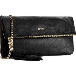 Torebka CARINII - Crn 777-162-000-000 Czarny. Czarne torebki klasyczne damskie Carinii, ze skóry. W wyprzedaży za 399,00 zł.