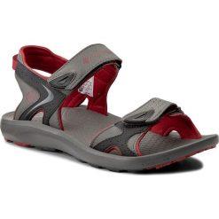 Sandały męskie skórzane: Sandały COLUMBIA – Techsun BM4511 Titanium Mhw/Rocket 049