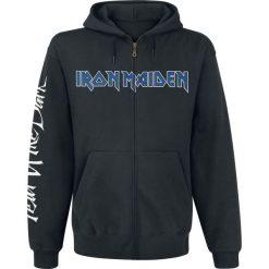Iron Maiden Fear Of The Dark Bluza z kapturem rozpinana czarny. Czarne bluzy męskie rozpinane Iron Maiden, s, z nadrukiem, z kapturem. Za 184,90 zł.