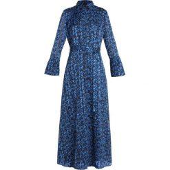 Banana Republic LEOPARD SHIRTDRESS Długa sukienka harbor blue. Niebieskie długie sukienki marki Banana Republic. Za 549,00 zł.