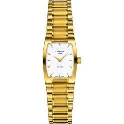 PROMOCJA ZEGAREK CERTINA DS. MINI SPEL C012.109.33.031.00. Białe zegarki damskie CERTINA, ze stali. W wyprzedaży za 1667,60 zł.