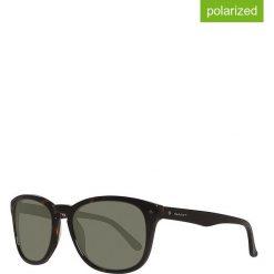 Okulary przeciwsłoneczne męskie: Okulary męskie w kolorze brązowo-zielonym