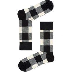 Happy Socks - Skarpety Blac & White Gift Box (4-pak). Białe skarpetki męskie Happy Socks. W wyprzedaży za 99,90 zł.