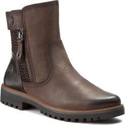 Botki MARCO TOZZI - 2-25450-27 Mocca Ant.Comb 325. Brązowe buty zimowe damskie marki Marco Tozzi, z materiału. W wyprzedaży za 259,00 zł.