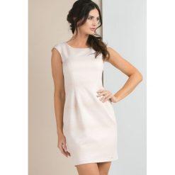 Sukienki: Sukienka z połyskującym, drobnym wzorem