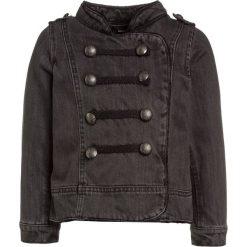 Next MILITARY Kurtka jeansowa grey. Szare kurtki dziewczęce przeciwdeszczowe Next, z bawełny. W wyprzedaży za 135,20 zł.