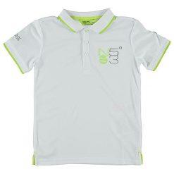"""T-shirty chłopięce z krótkim rękawem: Koszulka polo """"Talor"""" w kolorze białym"""