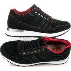 GERMAINE buty sportowe ze skóry. Czarne buty skate męskie MAZARO, ze skóry. Za 189,00 zł.