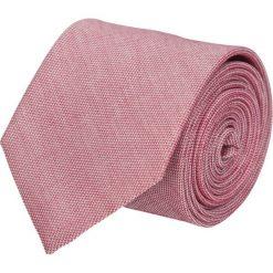 Krawat platinum róż classic 202. Różowe krawaty męskie marki Reserved. Za 49,00 zł.
