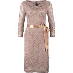 Sukienki hiszpanki: Young Couture by Barbara Schwarzer Sukienka koktajlowa greige