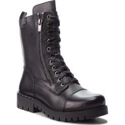 Trapery LASOCKI - RST-MISA-01 Czarny. Czarne buty zimowe damskie Lasocki, ze skóry. Za 299,99 zł.