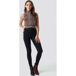 Dr Denim Jeansy Solitaire - Black. Czarne boyfriendy damskie Dr.Denim, z denimu. Za 161,95 zł.