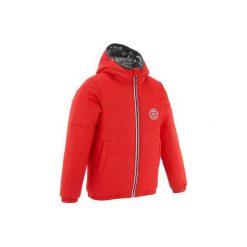 KURTKA NARCIARSKA WARM'REVERSE. Czerwone kurtki chłopięce przeciwdeszczowe WED'ZE. W wyprzedaży za 89,99 zł.
