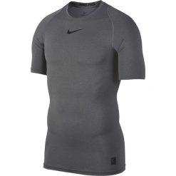 Koszulka Nike Pro (838091-091). Brązowe odzież termoaktywna męska Nike, m, z elastanu. Za 89,99 zł.