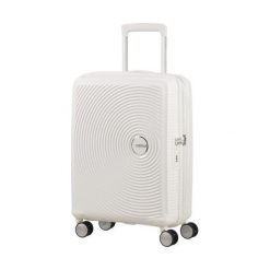 Walizka Spinner Soundbox biała (32G-05-001). Białe walizki marki Samsonite. Za 364,08 zł.