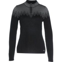 Swetry klasyczne damskie: Dale of Norway SNEFRID FEMININE  Sweter black/schiefer