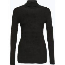 Golfy damskie: Drykorn – Damski sweter z golfem – Saree, czarny