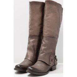 MJUS Kowbojki i Buty motocyklowe silice. Szare buty zimowe damskie marki MJUS, z materiału. W wyprzedaży za 743,20 zł.