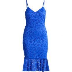 Sukienki hiszpanki: WAL G. Sukienka koktajlowa cobalt