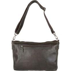 """Torby na laptopa: Skórzana torebka """"Lexington"""" w kolorze oliwkowo-brązowym – 37 x 31 x 6 cm"""
