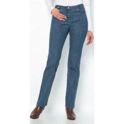 Boyfriendy damskie: Jeansy denim stretch, wewn. dł. nogawki. 78 cm