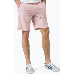 DENIM by Nils Sundström - Spodenki męskie, różowy. Fioletowe spodenki i szorty męskie marki KIPSTA, m, z elastanu, z długim rękawem, na fitness i siłownię. Za 139,95 zł.
