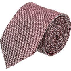 Krawat platinum bordo classic 214. Szare krawaty męskie Recman. Za 49,00 zł.