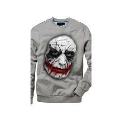 Bluza UNDERWORLD casual Jocker. Szare bluzy męskie rozpinane marki Underworld, m, z nadrukiem, z bawełny. Za 119,99 zł.