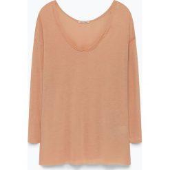 """T-shirty damskie: Koszulka """"Vixinut"""" w kolorze jasnobrązowym"""