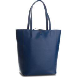 Torebka CREOLE - K10552  Granat. Niebieskie torebki klasyczne damskie Creole, ze skóry. W wyprzedaży za 209,00 zł.
