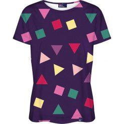 Colour Pleasure Koszulka damska CP-030 115 fioletowa r. XS/S. T-shirty damskie Colour pleasure, s. Za 70,35 zł.