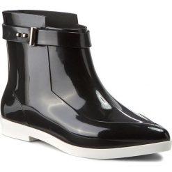 Kalosze MELISSA - Francoise+Jason Wu A 31778 Black/White 51492. Czarne buty zimowe damskie marki Lemon Jelly, z gumy. W wyprzedaży za 429,00 zł.