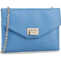 Torebka COCCINELLE - BV3 Pochette E5 BV3 55 E5 07 Azur 021. Niebieskie torebki klasyczne damskie marki Coccinelle, w ażurowe wzory, ze skóry. W wyprzedaży za 489,00 zł.