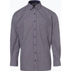 Eterna Comfort Fit - Koszula męska niewymagająca prasowania, niebieski. Niebieskie koszule męskie na spinki Eterna Comfort Fit, m, w kratkę. Za 229,95 zł.
