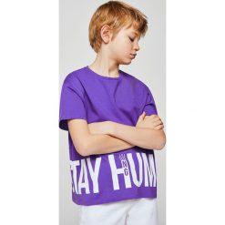 Odzież dziecięca: Mango Kids – T-shirt dziecięcy Mango 104-164 cm