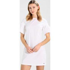 Odzież damska: Armani Exchange Sukienka letnia white