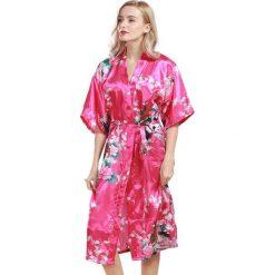 Szlafroki kimona damskie: Szlafrok w kolorze różowym