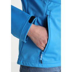 Icepeak PESSY Kurtka Softshell turquoise. Niebieskie kurtki damskie softshell marki Icepeak, z materiału. Za 249,00 zł.