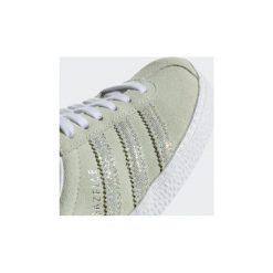 Trampki Dziecko  adidas  Buty Gazelle. Czarne trampki chłopięce marki Adidas, z materiału. Za 124,50 zł.